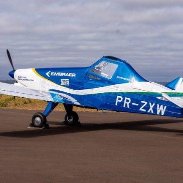 Embraer apresenta protótipo de avião com propulsão elétrica