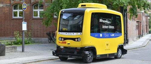 Capital da Alemanha inicia testes com ônibus elétricos sem motorista