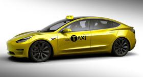Nova York passa a contar com Model 3 na frota de táxi elétricos