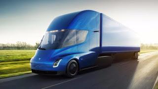 Tesla anuncia lançamento de caminhões elétricos para o final do ano