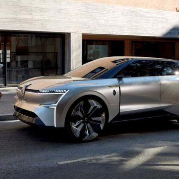 """Renault apresenta """"concept-car"""" elétrico que estica para ganhar autonomia"""