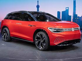 VW ID.Roomzz deverá ser maior modelo da família de elétricos
