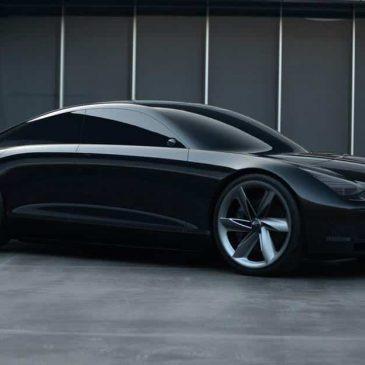 Novo carro elétrico conceito da Hyundai é controlado por joysticks